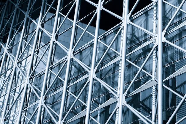 Résumé bâtiment avec cadre extérieur