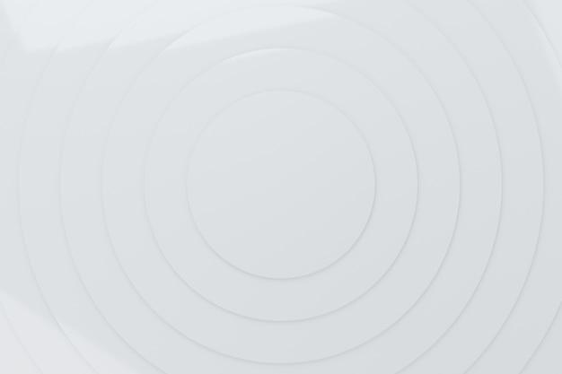 Résumé des cercles blancs vague modèle animation fond rendu 3d