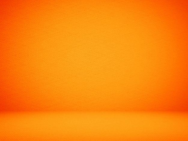 Résumé conception de fond de fond orange, studio, pièce, modèle web, rapport d'affaires avec une couleur de gradient de cercle lisse.