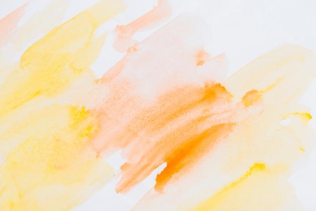 Résumé de couleur de l'eau fanée
