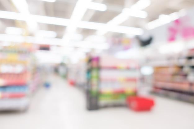 Résumé du supermarché flou