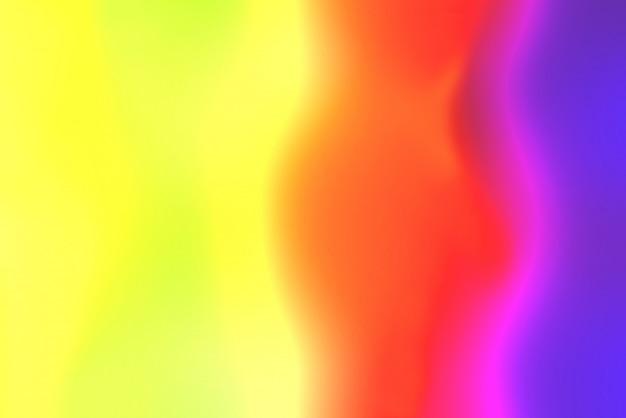 Résumé flou de lumière illuminée multicolore pour le fond