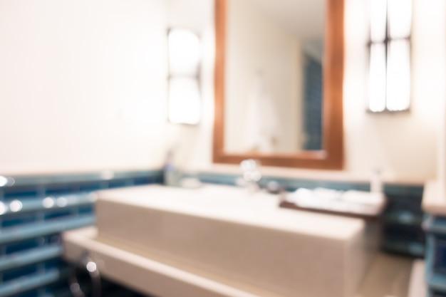 Résumé flou toilettes