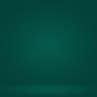 Résumé flou vide vert dégradé studio bien utiliser comme arrière-plan