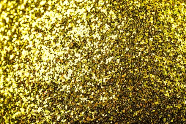 Résumé fond doré brillant de noël avec espace copie