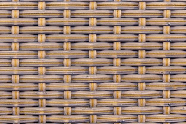Résumé fond de motif tissé en bambou