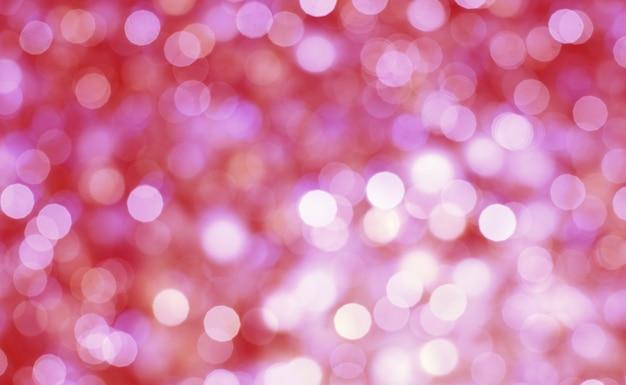 Résumé de fond pastel bokeh. lumière bokeh. projecteurs de flou scintillant sur fond abstrait multicolore