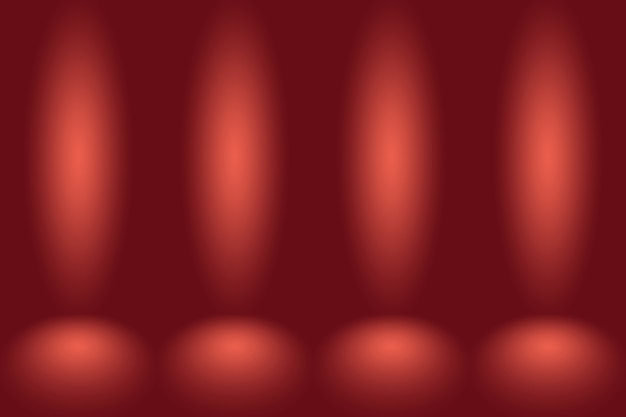 Résumé fond rouge noël valentines mise en page designstudioroom modèle web rapport d'activité avec ...