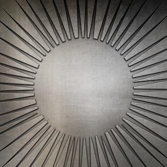 Résumé de fond avec une texture métallique