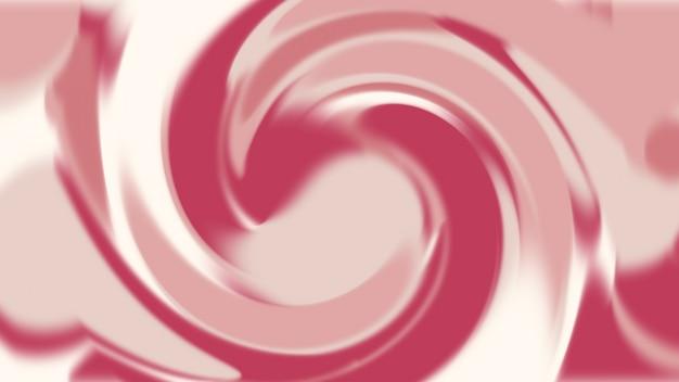 Résumé de fond de texture mouvement liquide rose et rouge