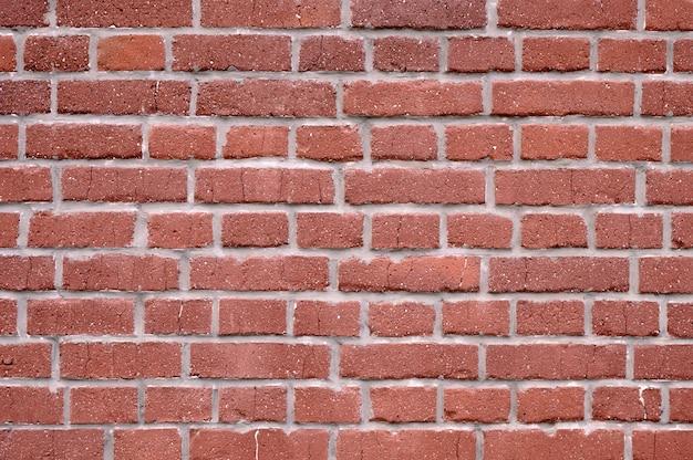 Résumé fond d'un vieux mur de briques rouges