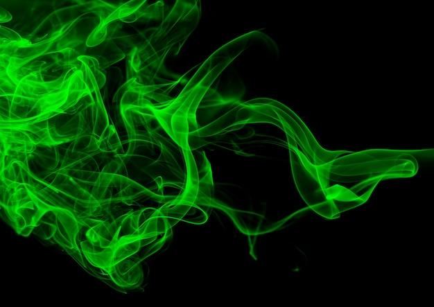 Résumé de la fumée verte qui coule