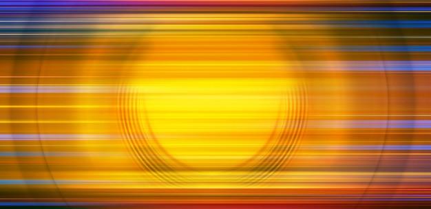 Résumé historique de flou de mouvement radial cercle coloré spin.