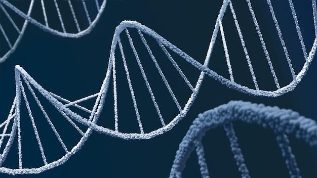 Résumé historique de l'hélice de la structure de l'adn