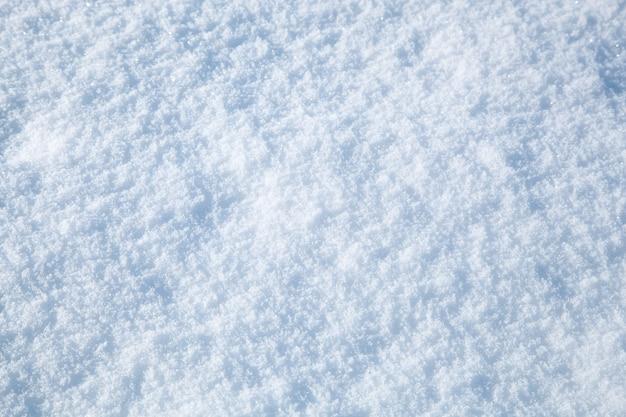 Résumé historique de neige d'hiver