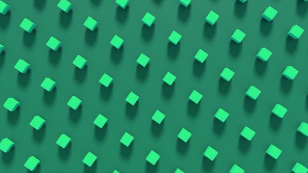 Résumé illustration 3d de formes géométriques