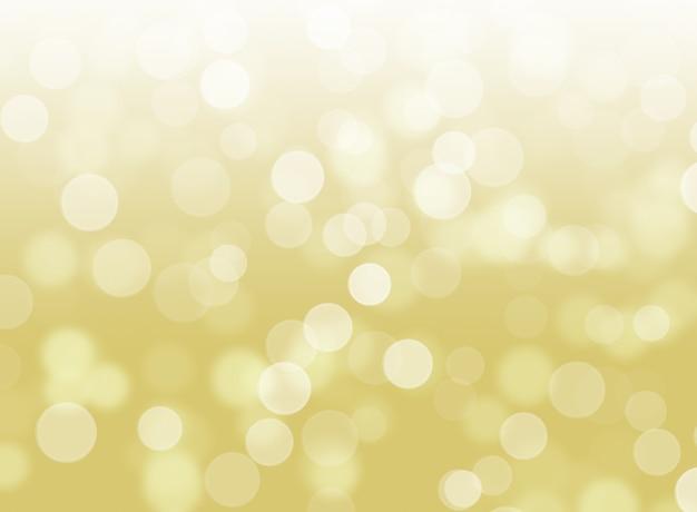 Résumé des lumières dorées bokeh fond marron