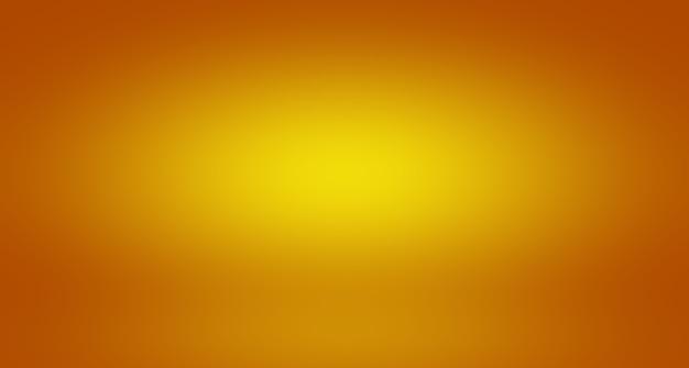 Résumé de la mise en page de fond orange lisse designstudioroom web template rapport d'activité avec c...