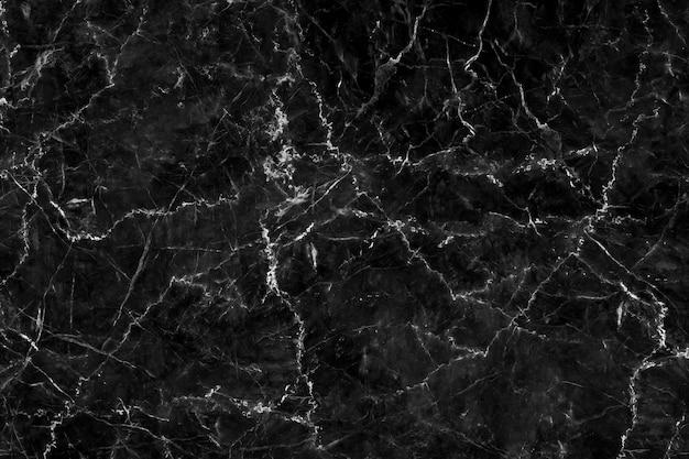 Résumé de modèle de pierre naturelle de texture de fond de marbre noir pour le travail d'art design