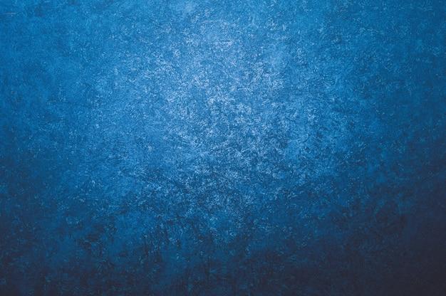 Résumé De Mur De Tendance De Couleur Bleue Simple Photo Premium