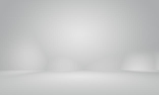 Résumé studio gris vide lisse bien utilisé comme arrière-plan, rapport d'activité, numérique, modèle de site web, toile de fond.