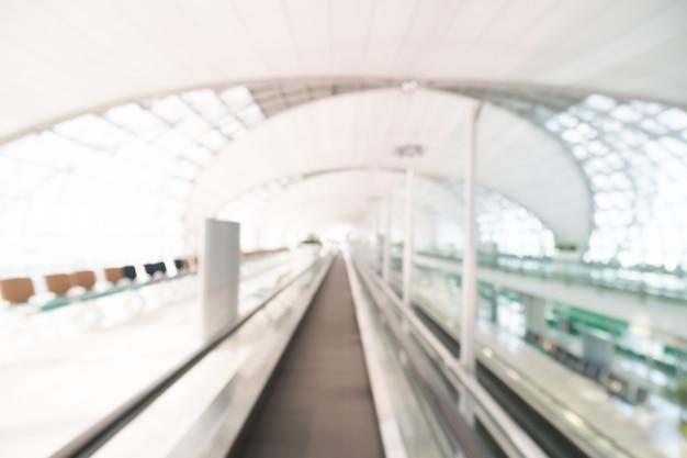 Résumé toile de fond moderne à l'intérieur aéroport