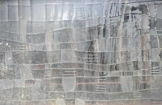 Résumé de vieilles fenêtres en verre