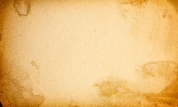Résumé, vieilli, ancien, antique, fond, papier beige, blanc
