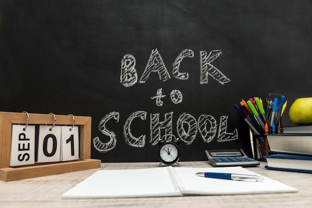 Retour au concept de l'école début de l'éducation.