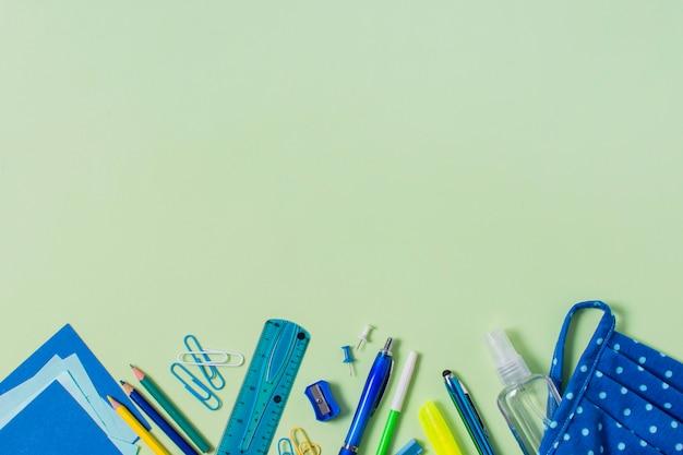 Retour au concept de l'école avec espace copie