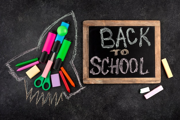 Retour au fond de l & # 39; école avec fusée