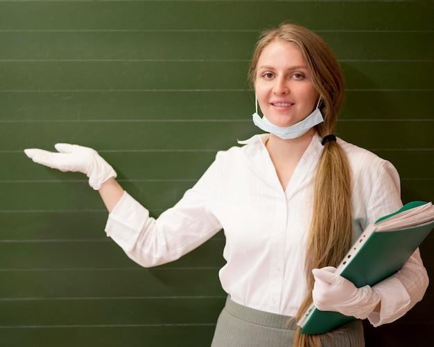Retour à l'école pendant covid avec espace copie