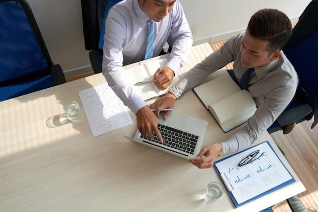 Réunion de dirigeants d'entreprise