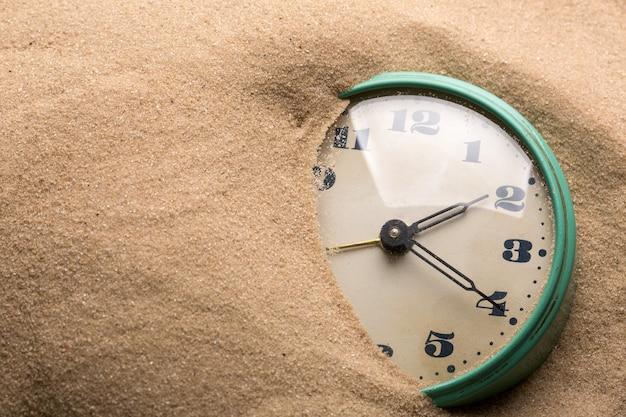 Réveil dans le sable