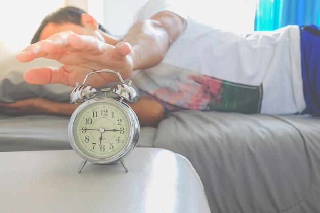 Réveil avec homme
