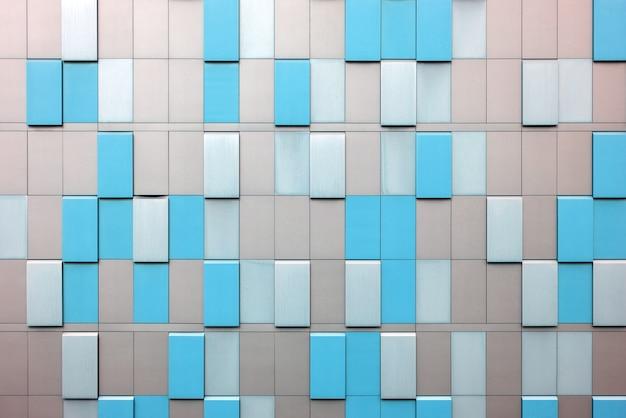 Revêtement extérieur d'un bâtiment industriel. contexte architectural abstrait.