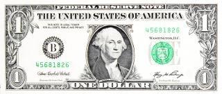 La richesse du dollar
