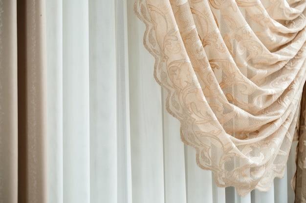 Rideaux de fenêtre, rideaux vintage pour l'appartement