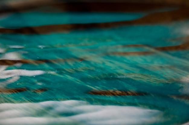 Ripples dans l'eau