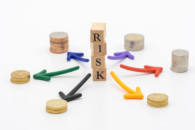 Risque d'éviter le risque le concept de la diversification des risques d'une entreprise