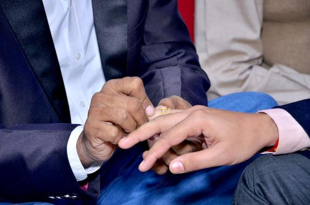 Rituel de mariage en inde