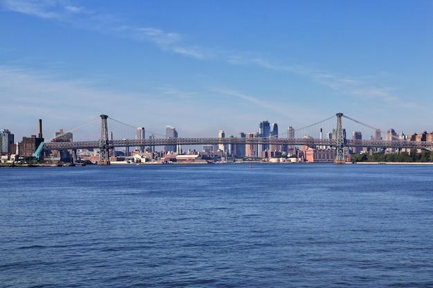 Rivière est à new york, états-unis