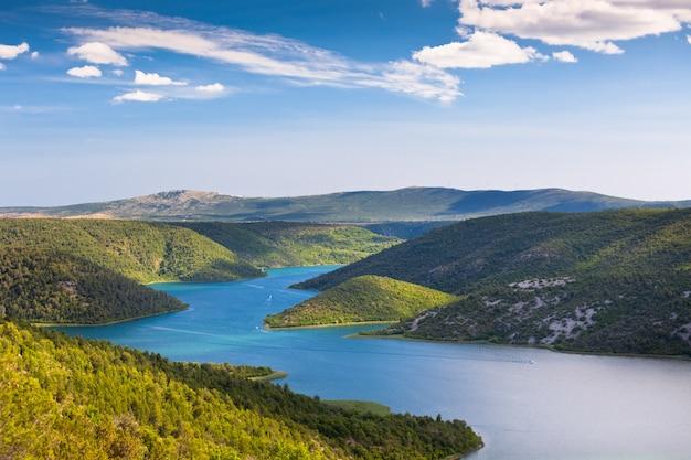 La rivière krka, croatie