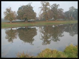 Rivière près de banbury, oxford
