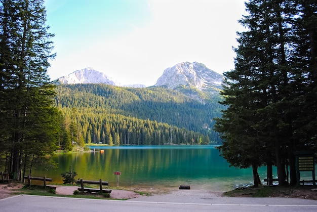 Rivières et lacs pittoresques du monténégro