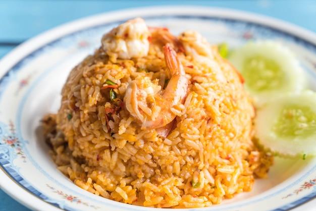 Riz frit aux fruits de mer épicés