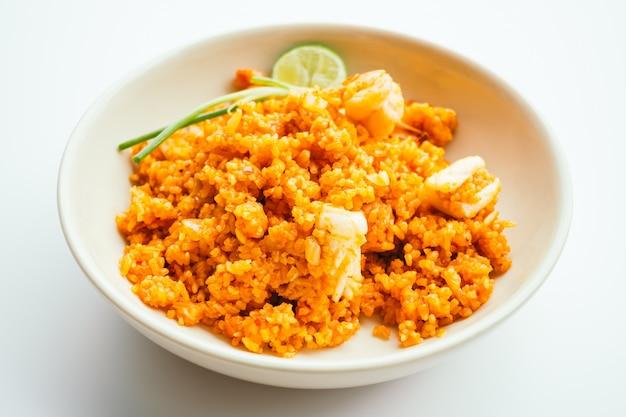 Riz frit aux fruits de mer