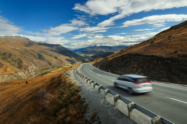 Road to queenstown, nouvelle-zélande
