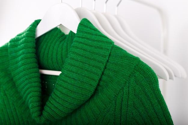 Robe automne hiver tricotée chaude