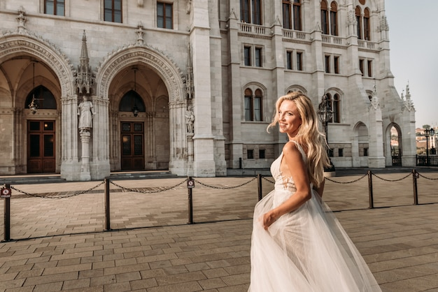 Robe de mariée mariée amour de mariage blanc
